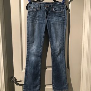 Lucky Brand Ladies Lola Boot Cut Blue Jeans